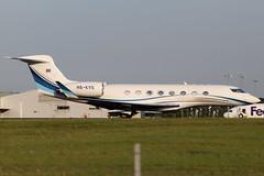 HS-KVS (GH@BHD) Tags: hskvs gulfstream gulfstreamaerospace g650 g6 g650er kingpower kingpowerinternational stn egss stanstedairport stansted londonstanstedairport aircraft aviation bizjet corporate executive vip