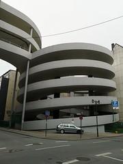 """""""Kreisverkehr"""" (Berliner1963) Tags: deutschland germany nordrheinwestfalen nrw wuppertal elberfeld kaufhof galeriakaufhof parkhaus architektur"""