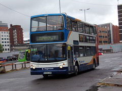 Stagecoach TransBus Trident (TransBus ALX400) 18087 VX04 GHN (Alex S. Transport Photography) Tags: bus outdoor road vehicle stagecoach stagecoachwest route7 alx400 alexanderalx400 dennistrident transbustrident transbusalx400 18087 vx04ghn