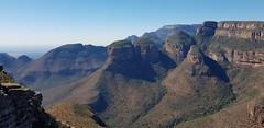 The Three Rondavels (Rckr88) Tags: mpumalanga southafrica south africa the three rondavels thethreerondavels rondavel mountain mountains green greenery outdoors travel cliff cliffs