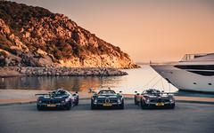 Early Risers (Alex Penfold) Tags: pagani zonda supercar raduno 2019 sardinia super car cars auto alex penfold viola fantasma evo carbon f roadster sunset sunrise sea boat
