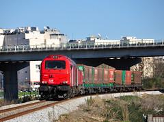 Valença do Minho (**REGFA**) Tags: takargo comsa captrain tren comboio valença do minho linha ferrocarril frontera portugal vigo galicia