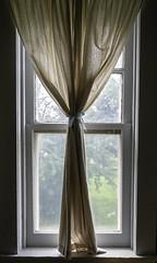Window (Solojoe ️) Tags: window curtain oldhouse johnwalterhouse museum backlight pce24 nikon24mmpce metabones fujixt2 metabonesadapter