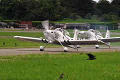 Ravens! (eigjb) Tags: weston airport eiwt dublin general aviation aircraft airplane aeroplane light plane spotting 2019 raven vans rv8 gvfds team birds formation ireland