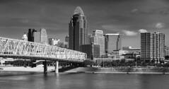 Cincinnati (yorgasor) Tags: sony nikon a7r2 a7rii 50mm ais cincinnati city river bridge