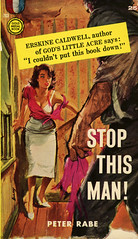 Gold Medal Books 763 - Peter Rabe - Stop This Man! (swallace99) Tags: goldmedal vintage 50s crime thriller paperback ernestchiriacka ernestchiriaka