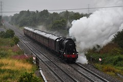 48151 Barton South Junction (Paul Baxter 362) Tags: stanier8f lms 48151 1z50 westcoastrailcompany wcrc merchantofavon bartonunderneedwood bartonunderneedwoodsouthjunction