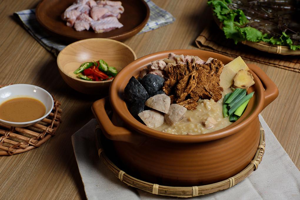 商品攝影,食物攝影,砂鍋粥,捲設計