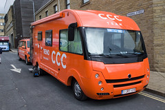 CCC Campervan! (SD Images) Tags: 1jry418 ccc ccccycling cccproteam campervan motorhome tourdeyorkshire
