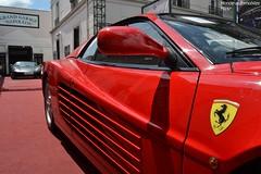 Duo de génération !! (Monde-Auto Passion Photos) Tags: voiture vehicule auto automobile duo combo ferrari 512tr f430 coupé red rouge sportive supercar rare rareté vente enchère osenat france fontainebleau