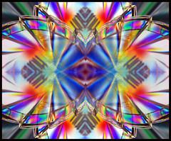 保谷 (nedjetwave) Tags: abstract pattern kaleidoscopic colour hoya crosspolarisation slidersunday postprocessed hss nikon micronikkor105mm d7000