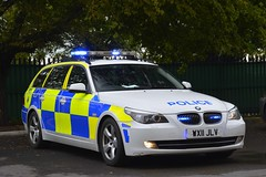 WX11 JLV (S11 AUN) Tags: avon somerset police bmw 530d 5series estate touring anpr traffic car rpu roads policing unit 999 emergency vehicle triforce wx11jlv