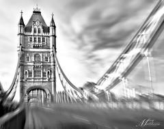 TowerBridge (photosnap16) Tags: nd filter london tower bridge black white nikon d800