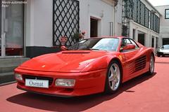 Ferrari 512 TR 1992 (Monde-Auto Passion Photos) Tags: vehicule voiture auto automobile ferrari 512tr coupé red rouge sportive supercar rare rareté vente enchère osenat france fontainebleau
