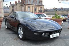 Ferrari 456 M GTA 2001 (Monde-Auto Passion Photos) Tags: voiture vehicule auto automobile ferrari 456mgta coupé noir black sportive supercar rare rareté vente enchère osenat france fontainebleau