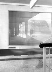 Ghosts of the Underground (ucn) Tags: zeissikondonata2277u 9x12 fomafomapan100 tessar135cmf45 berlin u8 jannowitzbrücke mitte undergroundstation ubahnhof