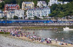 A sunny day by the sea (Gill Stafford) Tags: gillstafford gillys image photograph wales northwales conwy llanduno tourists visitors fun sunshine summer sands seaside resort