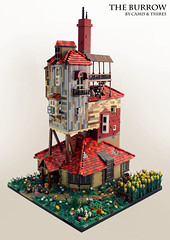 The Burrow (thire5) Tags: harry potter ron weasley hermione granger burrow ginny