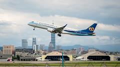 松山機場 (KentFan) Tags: 松山機場 桃園機場 濱江街 長榮 華航 東方航空 空港 台北101 101
