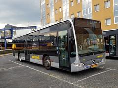 NLD Qbuzz 3142 ● Groningen Busstation (Roderik-D) Tags: bxfv38 qbuzz31003301 gd2020 3142 groningenstation 2009 dieselbus euro5 mercedesbenz citaro2 o530ü savas bege überlandbus streekbus 2axle 2doors ivu gorba