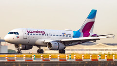 Airbus A319-132 D-AGWU Eurowings (William Musculus) Tags: paris charles de gaulle roissy roissyenfrance lfpg cdg airport spotting aviation plane airplane william musculus dagwu eurowings airbus a319132 a319100 ewg ew