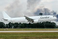 D-ATCF (PlanePixNase) Tags: hannover aircraft airport planespotting haj eddv langenhagen condor airbus 321 a321