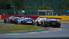 Professionals at work, 24 hours of Spa Francorchamps, 2019 (Thibault Gaulain) Tags: nikon d7200 tamron 100 400 100400 belgium belgique spa francorchamps circuit track sport course race racing voiture car auto automobile outdoor outside blancpain endurance series sro battle fight intercontinental gt challenge pirelli tyre tyres wing racecar downforce 2019 24 24h heures pluie rain weather wet pro am proam water été summer clouds fence gt3 mercedes amg htpbmw m6 schnitzer nissan gtr r35 godzilla kcmg bmw boutsen ginion