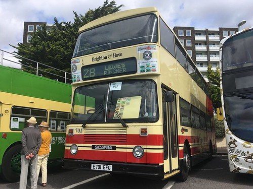 Flickriver: Former Brighton and Hove Buses in Preservation pool