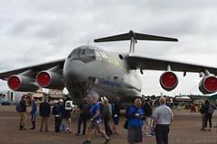 Ilyushin Il-76MD (76683) (Bri_J) Tags: royalinternationalairtattoo airshow raffairford gloucestershire uk riat riat2019 fairford aircraft nikon d7500 ilyushin il76md 76683 il76 jet transporter 25thtransportaviationbrigade ukrainianairforce candid