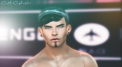 B#63 (Catlo Cyberstar) Tags: gaeg modulus signature men fashion bento head ebento event secondlife digitalart avatar