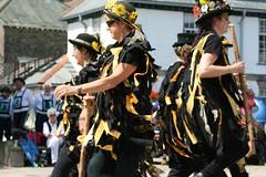 Calstock Heritage weekend 2019 (Dartmoor Border Morris`s) Tags: dartmoor border morris old town twelves wreckers plymouth maids brewery calstock heritage black farmer company folk dancing