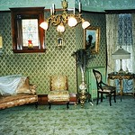 Comment or Fave top Photo First  ----- - Grand Rapids  Michigan  - Ralph Voigt House and Museum  - Heritage Hill -  Period  Living Room thumbnail