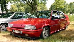 Citroën BX 19 GTI 16S 1987 (XBXG) Tags: bf759dj citroën bx 19 gti 16s 1987 citroënbx 16v 16 soupapes valve 16valve red rood rouge célébrationcentenairedecitroën célébration centenaire 2019 lafertévidame 28 eureetloire eure et loire france frankrijk youngtimer old classic french car auto automobile voiture ancienne française vehicle outdoor