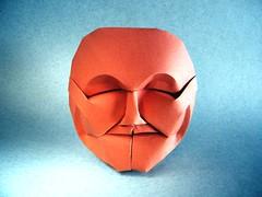 Mask 2 - Fynn Jackson (Rui.Roda) Tags: origami papiroflexia papierfalten mascara masque mask 2 fynn jackson