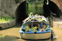 Everything, but The Kitchen Sink (acwills2014) Tags: rivergypsy canal boat slow relaxing tunnel kennetandavoncanal