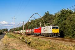 28 juillet 2019 E186-162-4 Train 42207 Forbach -> Bayonne Cestas (33) (Anthony Q) Tags: 28 juillet 2019 e1861624 train 42207 forbach bayonne cestas 33 ecr ferroviaire wagon fret traxx cv db gironde aquitaine