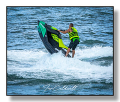 Jet Ski, Bowleaze, Dorset. 28-7-2019 (Ian Caldwell Photography) Tags: sea water jet ski bowleaze cove sport waves beach weymouth canon eos 1200d ian caldwell photography