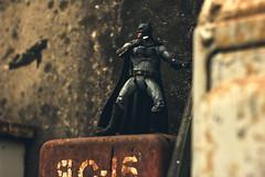 A Bat ready For ComBAT (Leo Goubine) Tags: dccomics dc acba comics batman justiceleague brucewayne rust industrial toyphotography toys actionfigures cinematic
