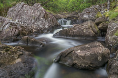 Dolmelynllyn Waterfall Lower (chrisellis211) Tags: dolmelynllyn waterfall waterfalls water rock wales snowdonia rhaeadr canon nd filter polariser gobe longexposure visitwales dolgellau nationaltrust nt