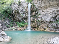 GORDENA WATERFALL (Francesco Rizza) Tags: waterfall longexposure river mountain italy genoa nord nature wild trekking water landscape forest blue cascate travel explore alps natural park wallpaper green rafting adventure