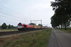Crossrail DE 6314 te Horst Sevenum. (vos.nathan) Tags: horst sevenum hrt crossrail de 6314 class 66 neuss shuttle