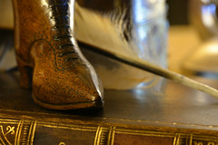 Made of wood (PentlandPirate of the North) Tags: hmm macromondays boot shoe antique snuffbox madeofwood