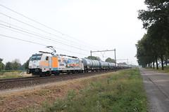 HSL 186 181 te Horst Sevenum. (vos.nathan) Tags: horst sevenum hrt br 186 baureihe 181 hsl logistik