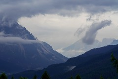 Foreboding (Lux Aeterna - Eternal Light) Tags: mountains storm clouds