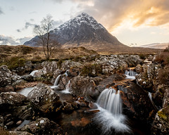 Buachaille Etive Mor (thomasgreen92) Tags: landscape lakes lake clouds mountains refelections reflection tarn photography light lighthouse tripod manfrotto lens camera picture image grass colour rocks ocean water sky rock dawn sunrise lone tree lonetree beautiful beauty reflections mountain serene sunstar sunlight mountainside a7iii sunset scotland glencoe