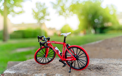 BICYCLE 2 (Alan Piano Photography) Tags: sun street soft sky story sony straat beautiful foto fotograaf fine fiets alpha a7r3 a7riii camera city epe holland photo photography photoshoot red art bicycle test tamron testing toys