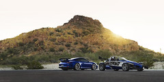 Ariel Atom and Porsche 911 GT3 - Forman Motorworks (Desert-Motors Automotive Photography) Tags: arielatom atom porsche porsche911 911gt3 997gt3 porsche911gt3 ariel arizona forman formanmotorworks