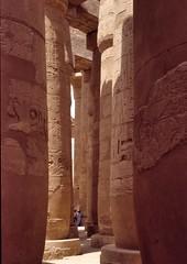 egypte_karnak_004 : Karnak, Egypte (pascalvu1) Tags: egypt film kodachrome nikonf art architecture