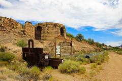 Old Dominion Historical Mine Park (Buck--Fever) Tags: oldbuildings olddominionhistoricalpark arizona arizonaskies arizonawonders arizonahistory canon60d tamron18400lens globearizona old centralarizona mines mining coppermine history