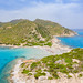 Punta Molentis Beach in Sardinia, Italy
